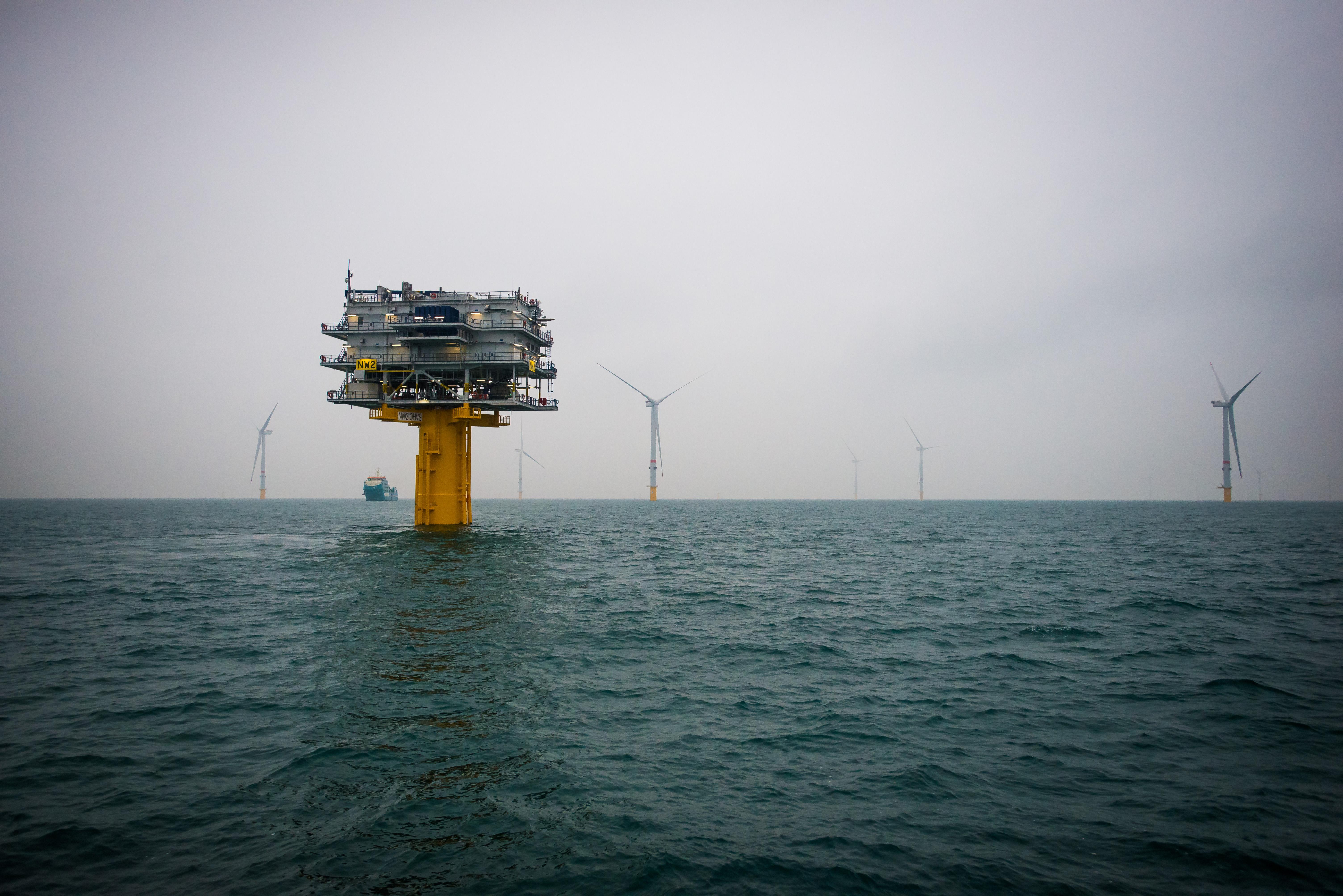 Northwester 2 OHVS (Offshore High Voltage Station)