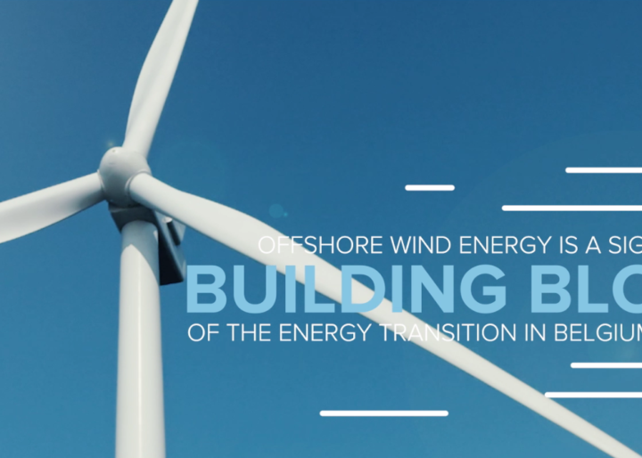 Offshore wind energy is a significant building block of the energy transition in Belgium